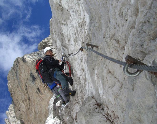 Klettersteig Buchstein : Klettersteige bosruck und poppenberg